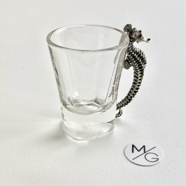 Espresso Shot Glass with Stainless Handle