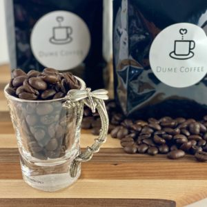 Espresso Shot Glass with a Stainless Handle
