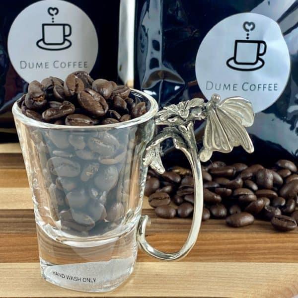 Luxurious Espresso Glasses