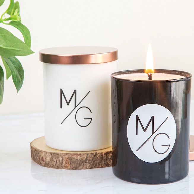 Malibu's Hand Poured Soy Wax Candles